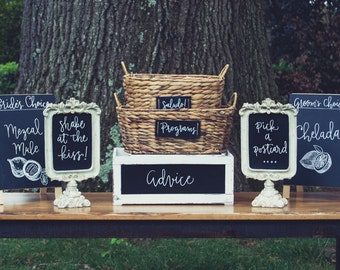 Chalkboard Calligraphy - Custom Design