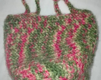Crochet Mini Market Bag shopping Pouch