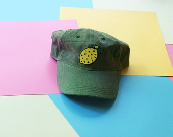 Confetti Lemon Patch Baseball Hat - Strapback LIMITED