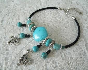 Turquoise Bracelet, southwestern jewelry southwest jewelry turquoise jewelry native american jewelry style country western cowgirl bracelet