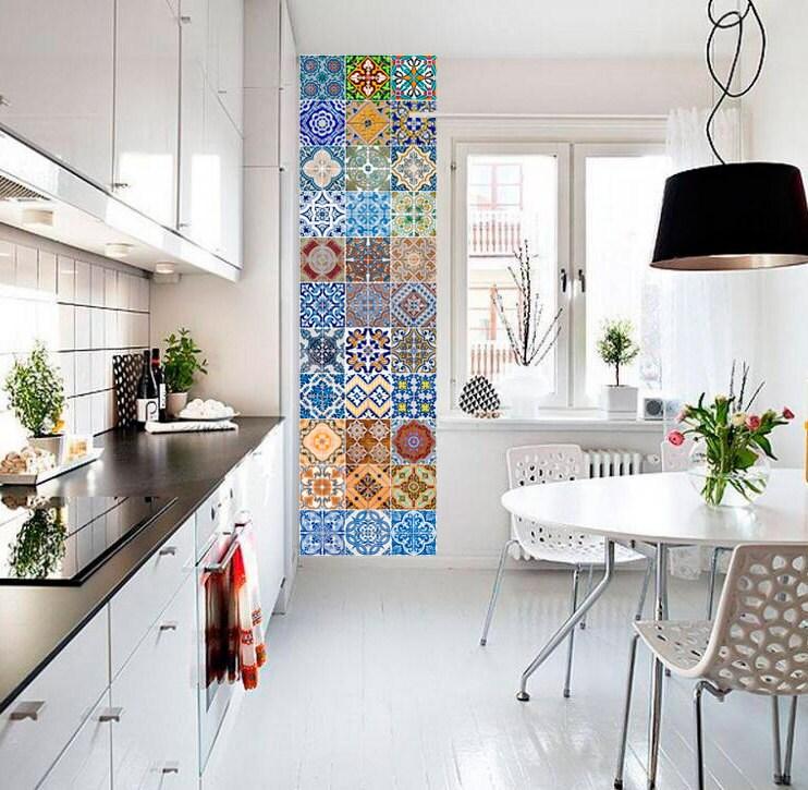 Portugiesische Fliesen Patterns Fliesenaufkleber Küche