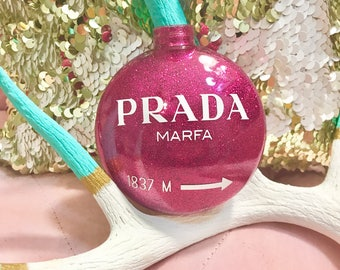 Prada Marfa Ornament