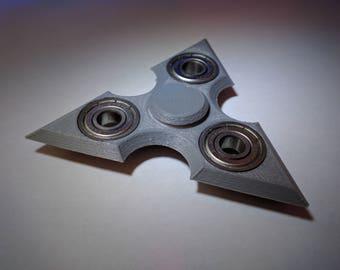 3D Printed Shuriken Ninja Star Fidget Hand Spinner