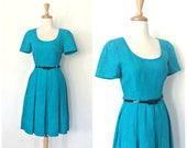 Vintage Linen Dress - swi...