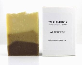 Palm free Cedarwood Mint soap, Essential oil soap, Soap for men, Patchouli soap, Vegan Soap Victoria BC, Vancouver Island