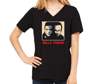Hello Friend, Mr. Robot T-Shirt for Women, LJ #50
