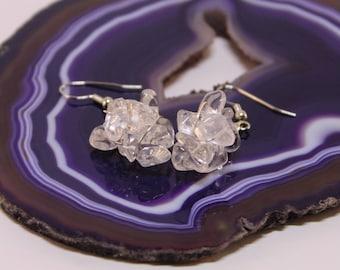 Quartz Cluster Earrings