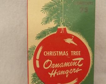Vintage Mid Century Box of Criterion Tree Ornament Hangers