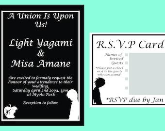Death Note Invite/RSVP