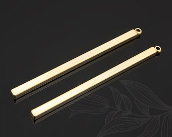 E655-20pcs-Matt Gold Plated
