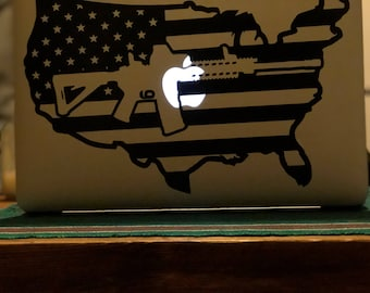AR-15 Computer Decal