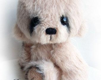 Rambo artist bear epattern by Jenny Lee of jennylovesbenny boutique bears