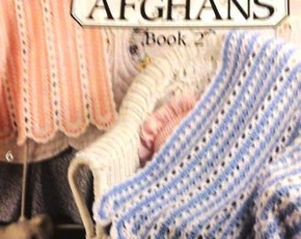 5 Crochet Baby Afghan Books to Choose From