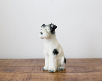 Vintage Porcelain Terrior Dog Figurine