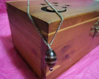 Honeycomb Swirl Necklace