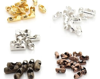 Free Shipping* - 200 pcs Ball Chain Connectors Clasps Gold /Silver /Copper Color Copper Connectors 1.5/ 2/ 3.2 mm  Wholesale Price (SSS1231)
