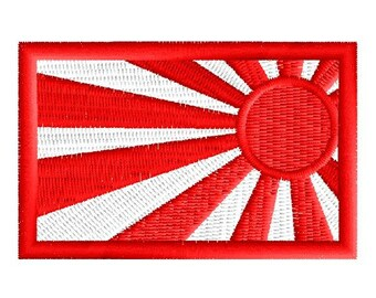Flag of Japan embroidered patch