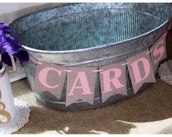 cards banner - card banner - card sign - card sign for wedding - card sign for grad - card sign for bridal - card banner for wedding