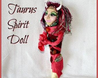 Taurus Spirit Doll