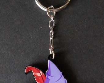 Witch Hat Acrylic Keychain