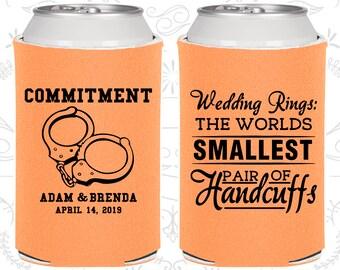 Peach Wedding, Peach Can Coolers, Peach Wedding Favors, Peach Wedding Gift, Peach Party Decorations (505)