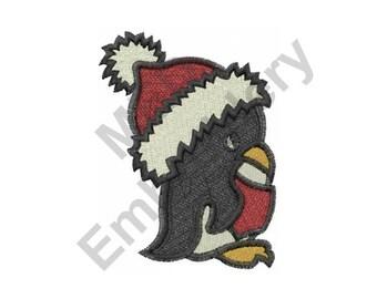 Penguin - Machine Embroidery Design, Christmas