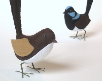 The Pretty Wren PDF Pattern and Instructions --INSTANT DOWNLOAD--