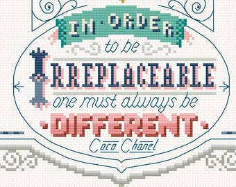 Charity SAL for Mind - Release 3 of 9  Cross Stitch Pattern (Digital Format - PDF)