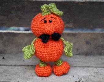 halloween gift halloween decor pumpkin thanksgiving decor friend gift ideas collectibles crochet pumpkin toy ornament men pumpkin figure