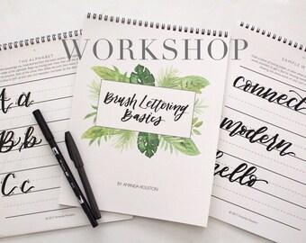 Brush Lettering Workshop - Brea, CA