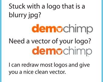 Redraw Logo Graphic Design Logo Design Vector