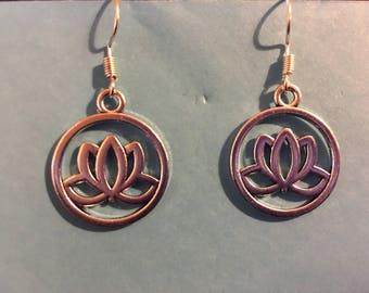 Lotus Earrings   Q51