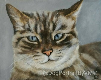 Portraits also on commission of your animals. For sale