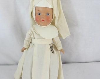 Nun Doll Composition