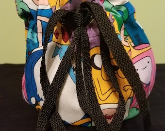 Adventure Time Dice Bag