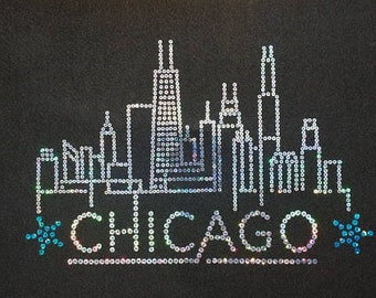 Smooth Sequin Chicago Shirt