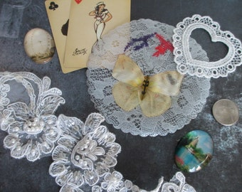 Destash MIXED MEDIA SUPPLIES for Assemblage, Scrapbooking, Steampunk and Altered Art