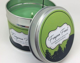 Lord of the Rings - Fangorn Forest inspired Scented Candle