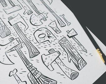 Axe to Grind - Ink Sale