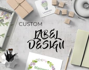 Custom Label Design Service
