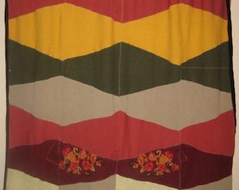 Wool Sweater Blanket - Recycled Wool Sweaters - Autumn - by FeltSassy