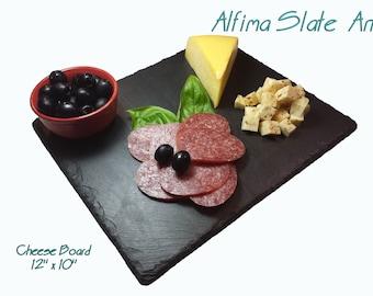 10 x 12  Slate Cheese Board with Soapstone Chalk