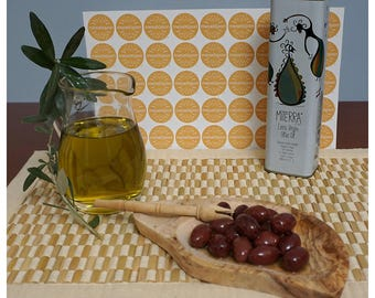 Miterra  Greek Extra Virgin Olive Oil Cold Extraction 500ml  From Crete Island