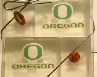 Oregon Ducks soaps for adult/kid party favors, stocking stuffers or holiday gifts