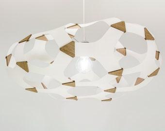 design chandelier suspended luminaire Alveole (large)