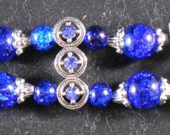 Bracelet - Blue & Silver #3