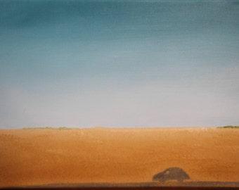 Original Landscape Oil Painting on Canvas - Saskatchewan Praires