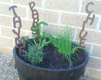 Vegetable / Herb Stakes / Garden Markers