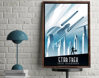 Star Trek into Darkness Minimal Artwork Home Decor Movie Poster