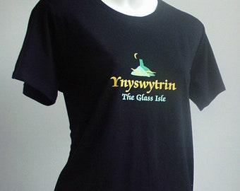 Ynyswytryn and the Glastonbury Tor T shirt